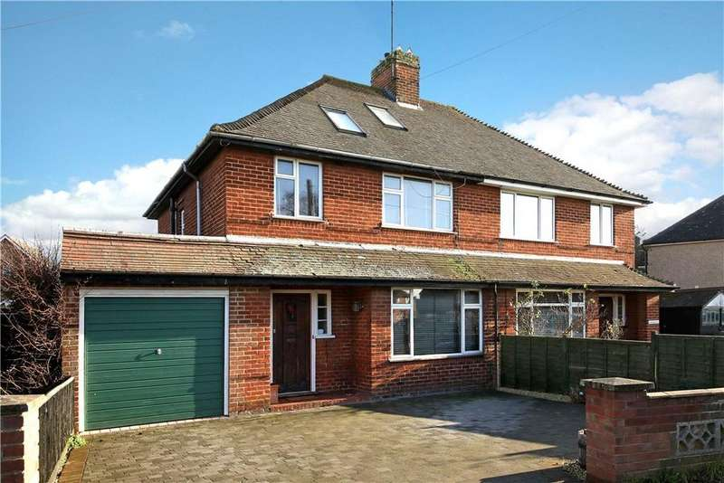 4 Bedrooms Semi Detached House for sale in St. Nicholas Road, Wallingford, OX10