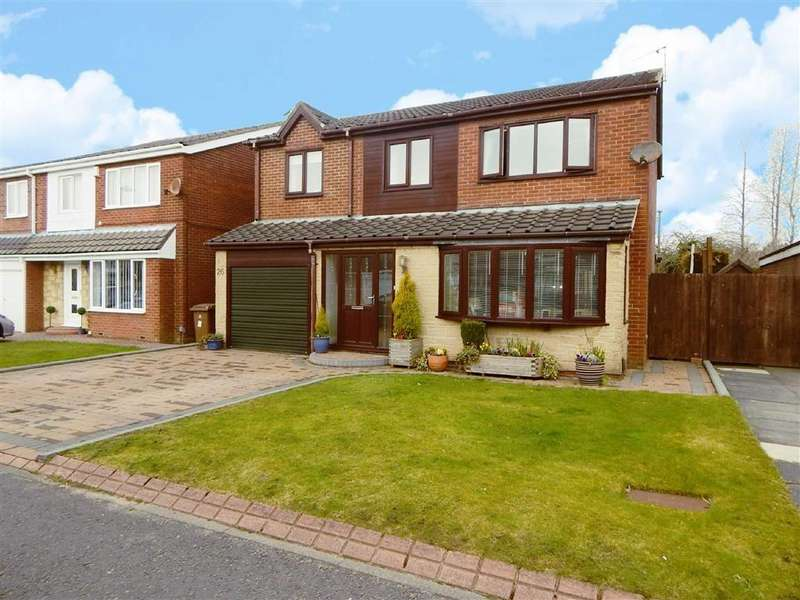 4 Bedrooms Detached House for sale in Aysgarth Avenue, Hadrian Park, Wallsend, NE28