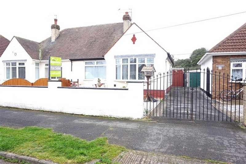 2 Bedrooms Semi Detached Bungalow for sale in Glamis Road, Hessle, Hessle, HU13