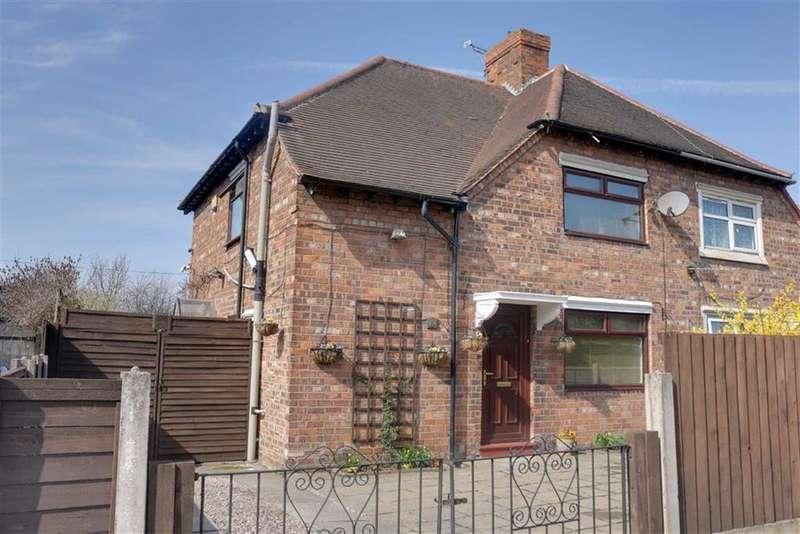 3 Bedrooms Semi Detached House for sale in Gresty Road, Crewe