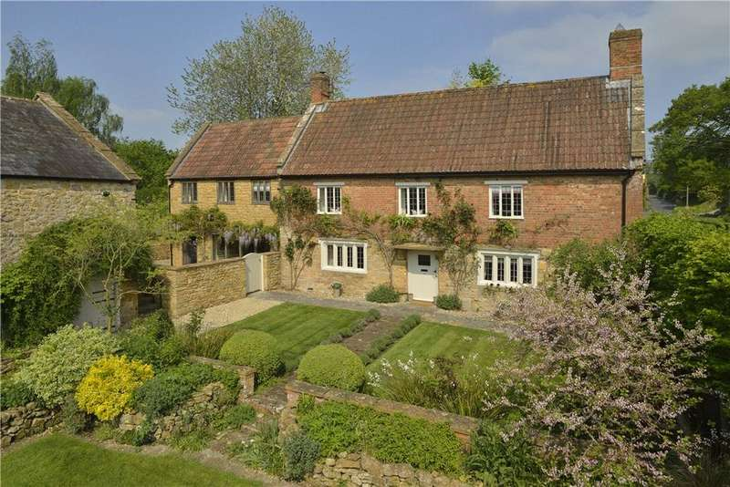 4 Bedrooms Detached House for sale in Lopen, South Petherton, Somerset, TA13