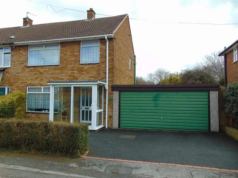3 Bedrooms Semi Detached House for sale in Friary Crescent, Rushall, Walsall
