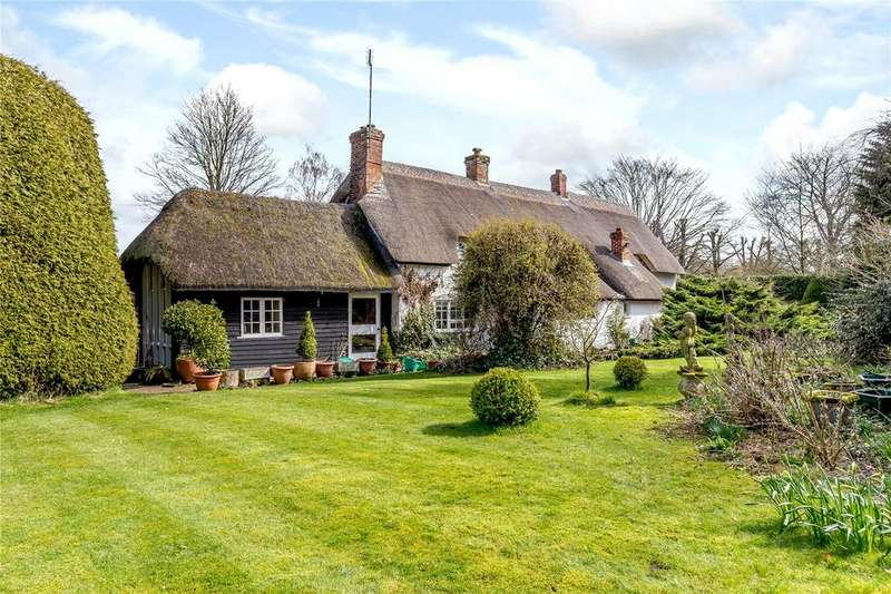 4 Bedrooms Detached House for sale in Ham, Marlborough, Wiltshire