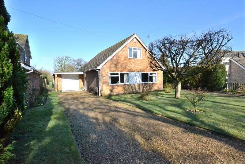 3 Bedrooms Detached Bungalow for sale in West Harling Road, East Harling, Norfolk