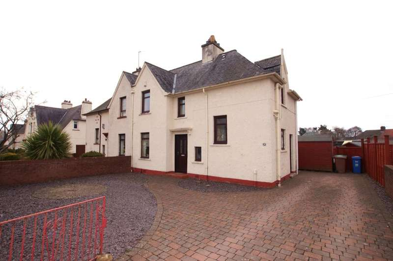 3 Bedrooms Semi Detached House for sale in Scoonie Drive, Leven, KY8