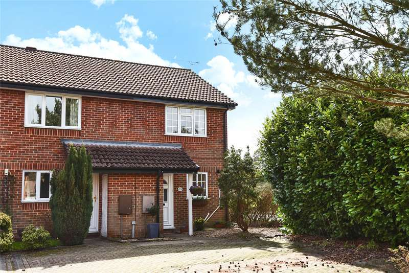 2 Bedrooms End Of Terrace House for sale in Cheylesmore Drive, Frimley, Camberley, Surrey, GU16