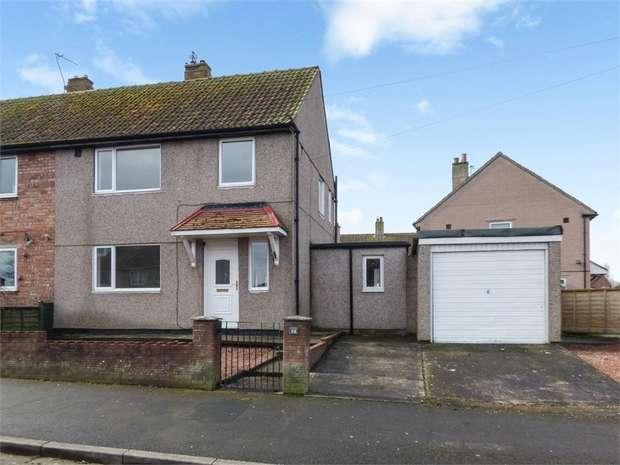 3 Bedrooms Semi Detached House for sale in Burnett Road, Carlisle, Cumbria