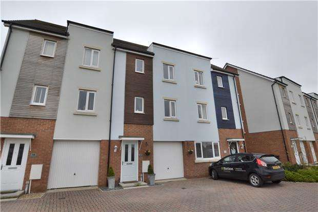 3 Bedrooms Terraced House for sale in Boscombe Down, Kingsway, Quedgeley, Gloucester, GL2 2FT