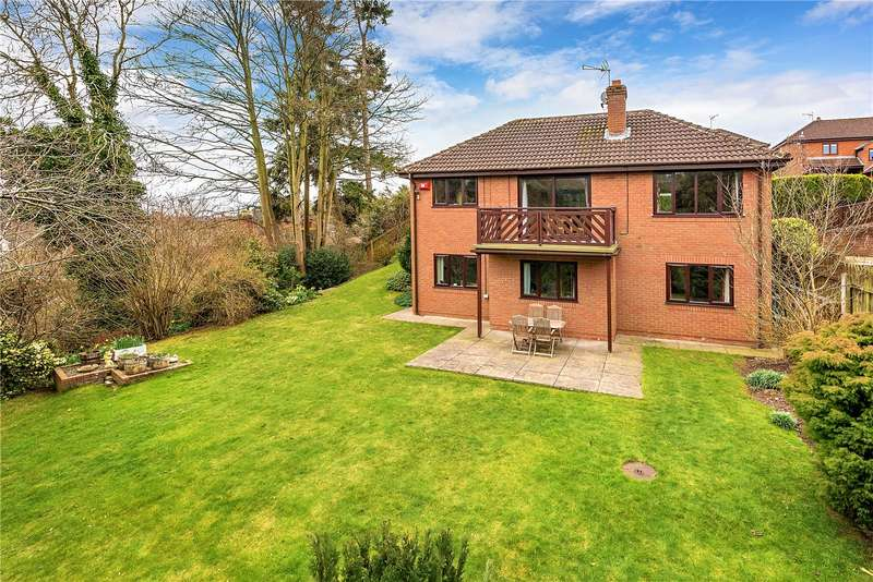4 Bedrooms Detached House for sale in 23 Rosehill Drive, Bridgnorth, Shropshire, WV16