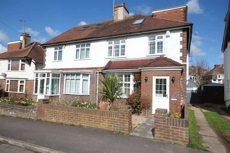 4 Bedrooms Semi Detached House for sale in Dale Drive, Patcham, Brighton