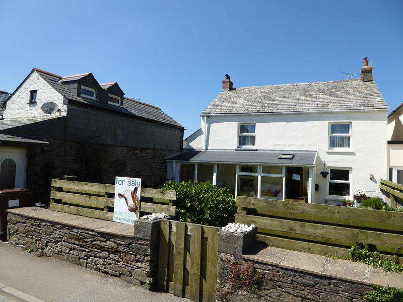 5 Bedrooms Detached House for sale in Bossiney Road, Tintagel