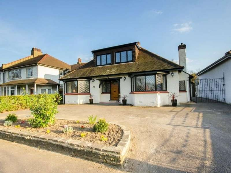 4 Bedrooms Detached Bungalow for sale in Stafford Road, South Wallington