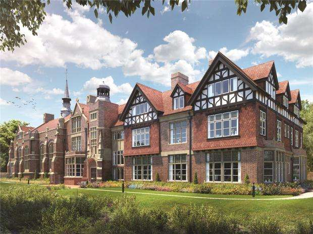 2 Bedrooms Apartment Flat for sale in Plot 17 Ashton Grove, Dunstable, Bedfordshire