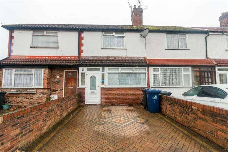 3 Bedrooms Terraced House for sale in Empire Road, Perivale