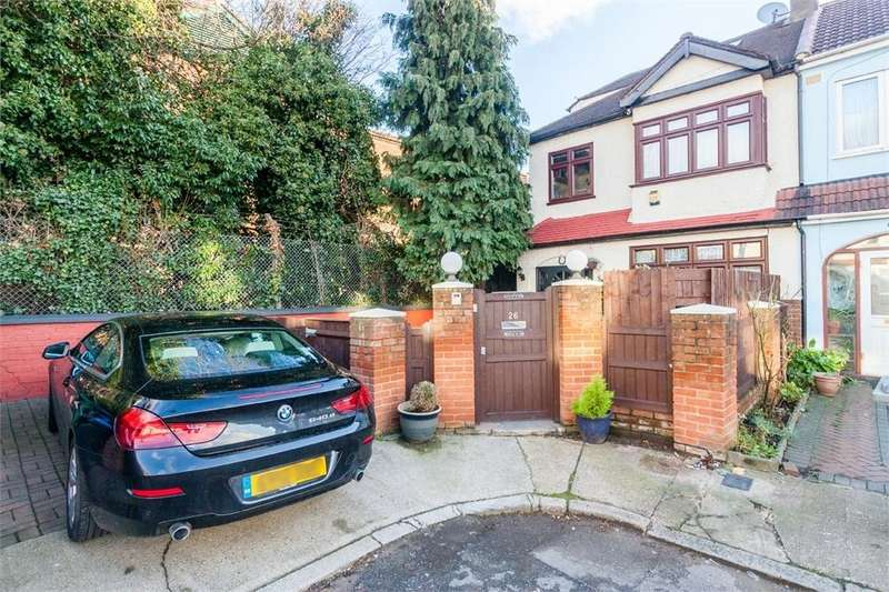 4 Bedrooms End Of Terrace House for sale in Eden Close, Wembley