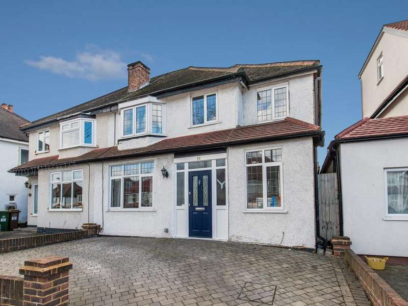 3 Bedrooms Semi Detached House for sale in Victoria Avenue, Wallington