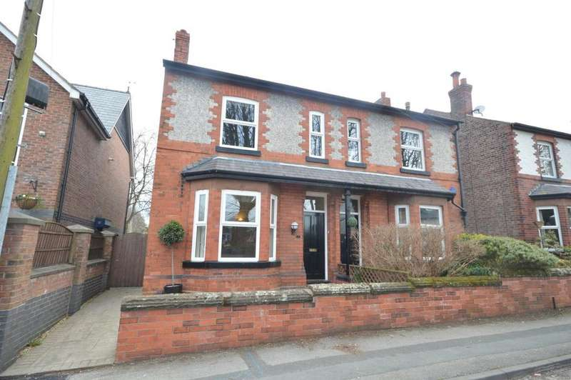 3 Bedrooms Semi Detached House for sale in Egerton Street, Stockton Heath, Warrington
