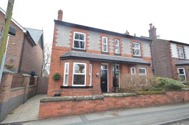 3 Bedrooms Semi Detached House for sale in Egerton Street, Stockton Heath, Warrington