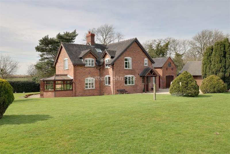 4 Bedrooms Detached House for sale in Deans Lane, Balterley