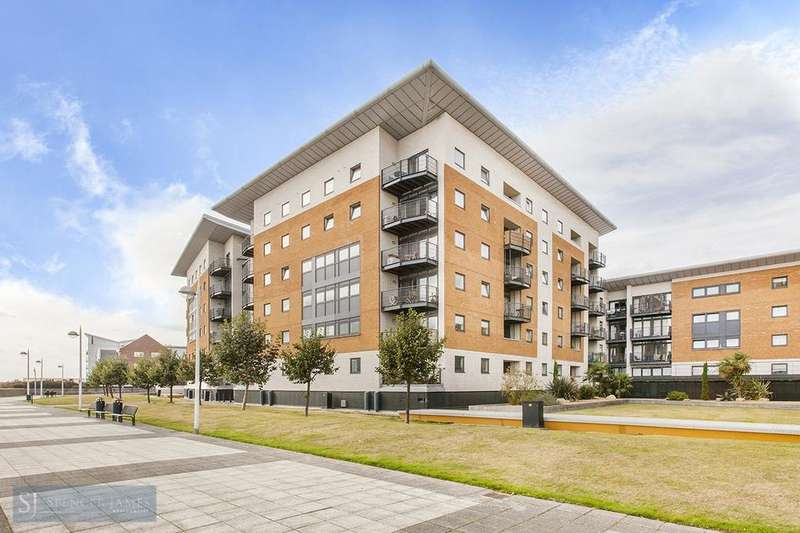 1 Bedroom Apartment Flat for sale in Fishguard Way, Galleons Lock, E16