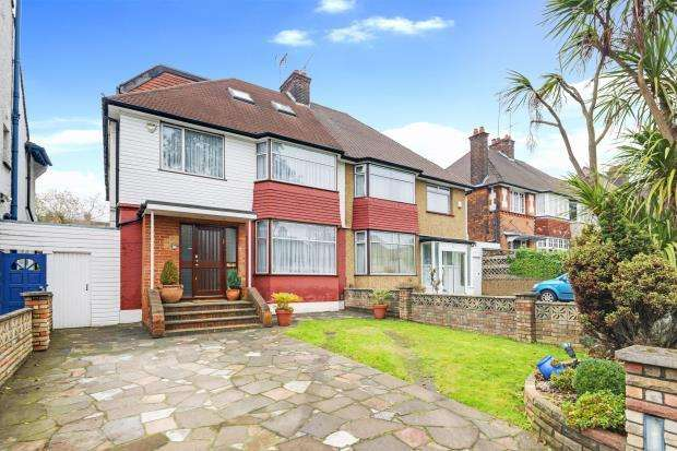 5 Bedrooms Semi Detached House for sale in The Vale, Golders Green, London, NW11