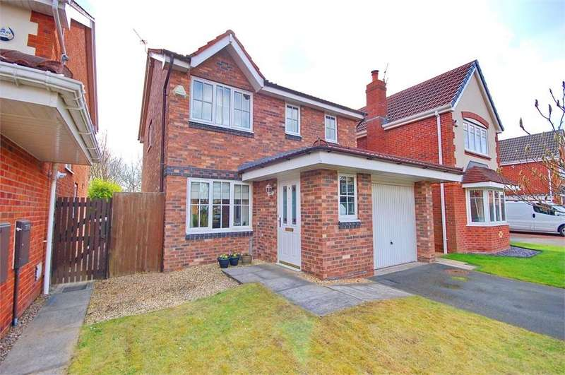 3 Bedrooms Detached House for sale in Anemone Way, New Bold, St Helens, Merseyside