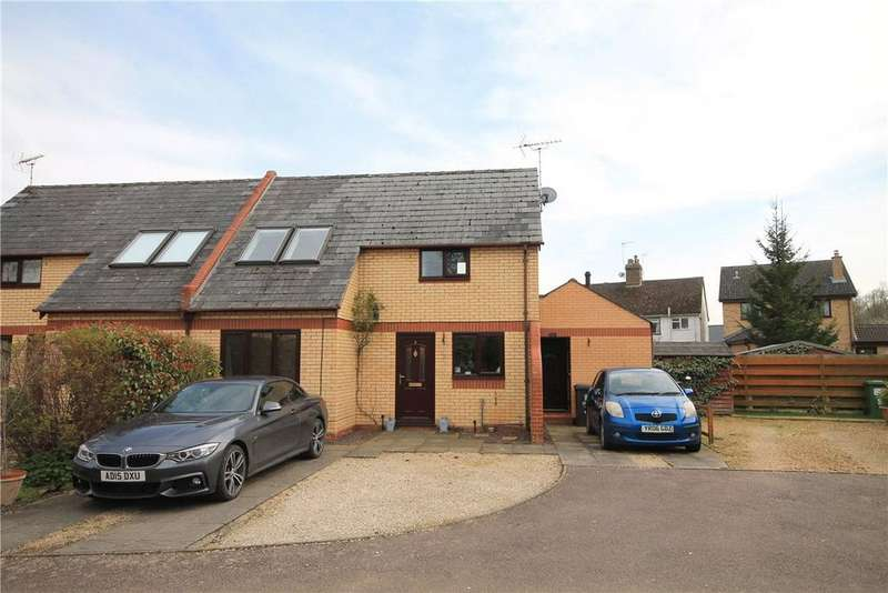 2 Bedrooms Semi Detached House for sale in Riddy Close, Hauxton, Cambridge, CB22