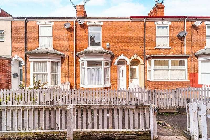 2 Bedrooms Terraced House for sale in Ormington Villas Field Street, Hull, HU9