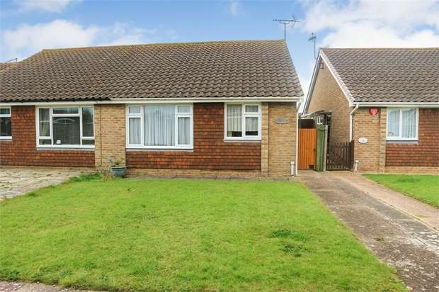 2 Bedrooms Semi Detached Bungalow for sale in Kipling Walk, Eastbourne, East Sussex