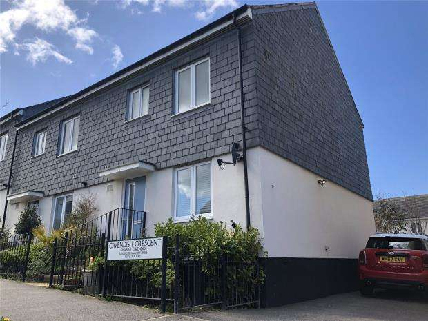 3 Bedrooms End Of Terrace House for sale in Cavendish Crescent, Newquay, Cornwall