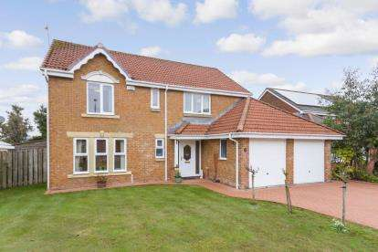 4 Bedrooms Detached House for sale in Ratho Drive, Cumbernauld