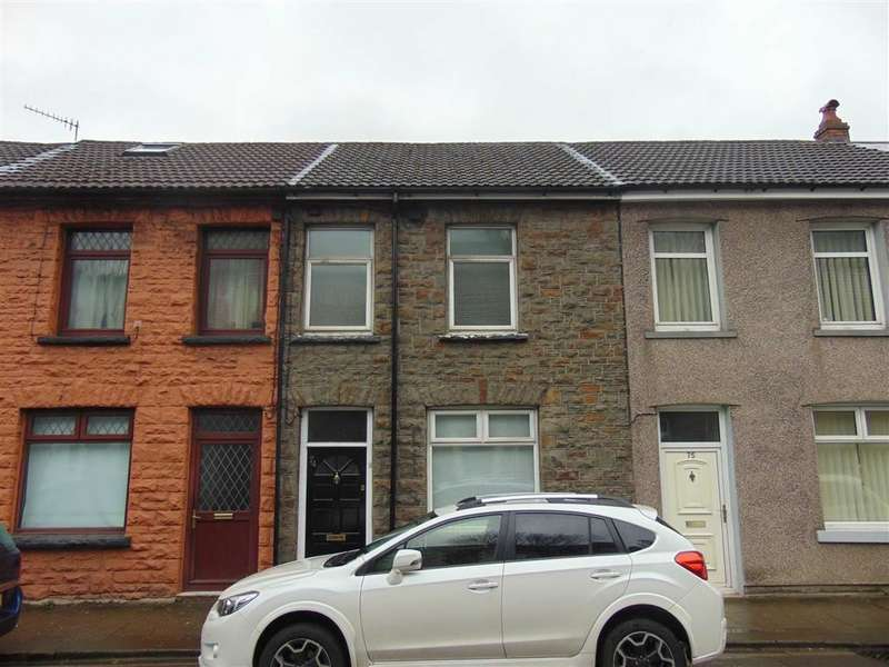 3 Bedrooms Terraced House for sale in North Road, Porth, Rhondda Cynon Taff