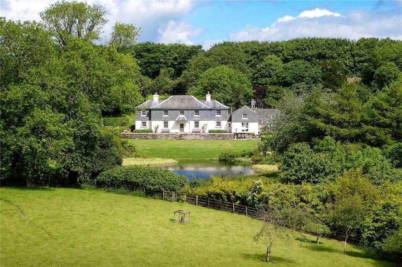 5 Bedrooms Detached House for sale in Willesley Farm, Milton Abbot, Tavistock, Devon, PL19