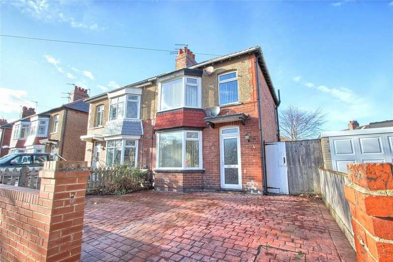 3 Bedrooms Semi Detached House for rent in Hampton Grove, Redcar