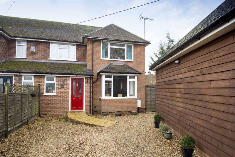 3 Bedrooms Semi Detached House for rent in Winslow Road, Wingrave, Aylesbury, HP22