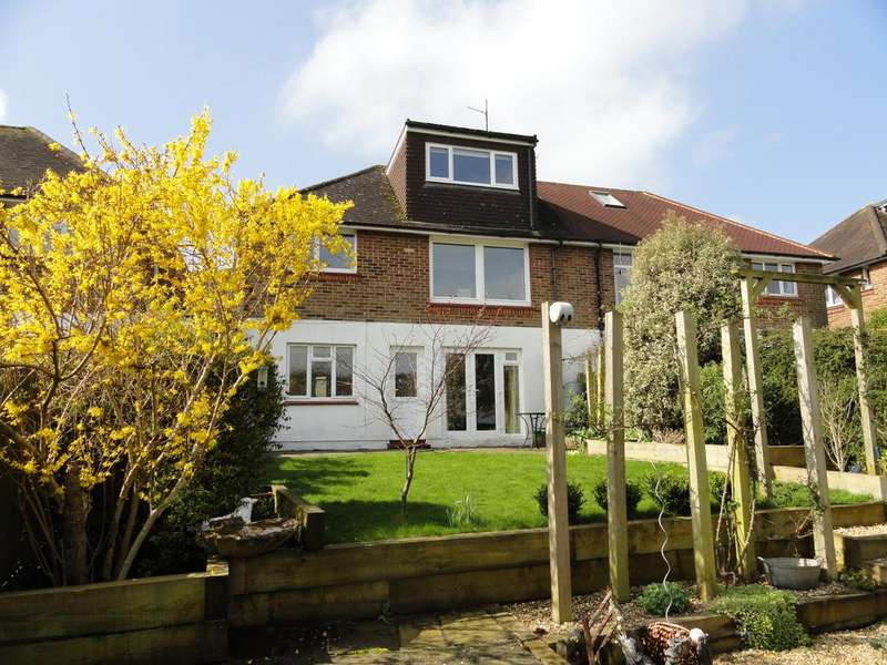 3 Bedrooms Semi Detached House for sale in Goldstone Way, Hove BN3