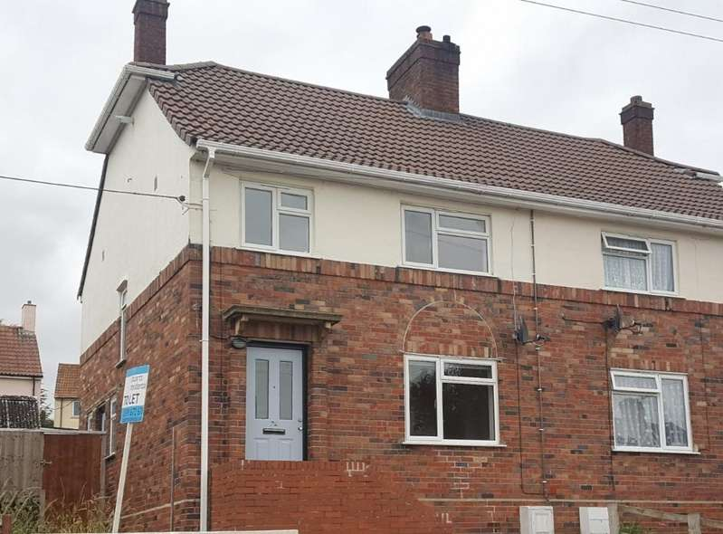 3 Bedrooms Semi Detached House for rent in Hervey Road, Wells