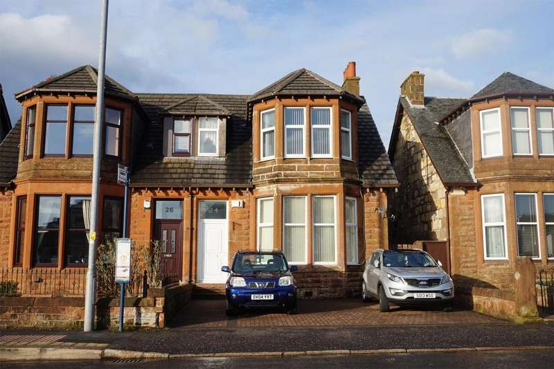4 Bedrooms Semi Detached House for sale in 24 Eglinton Road, ARDROSSAN, KA22 8NQ