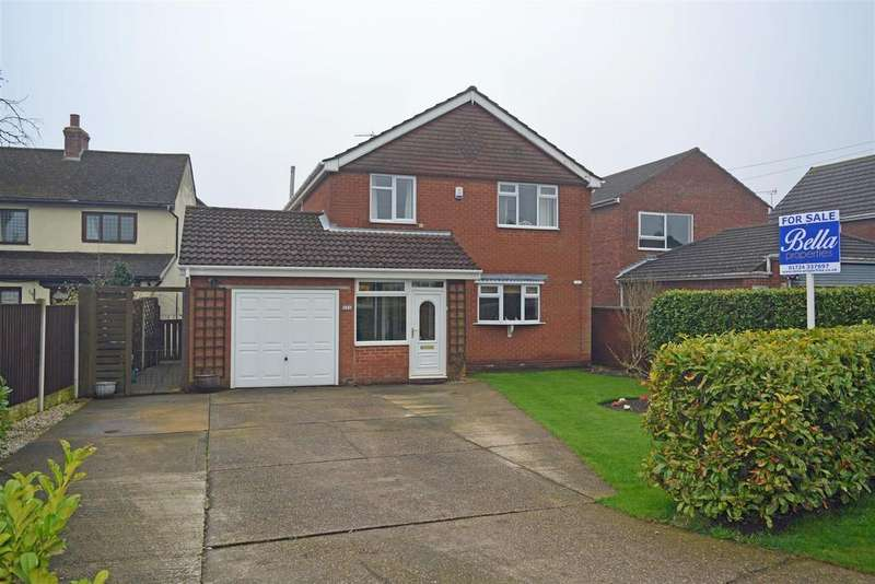 4 Bedrooms Detached House for sale in Manor Road, Scunthorpe