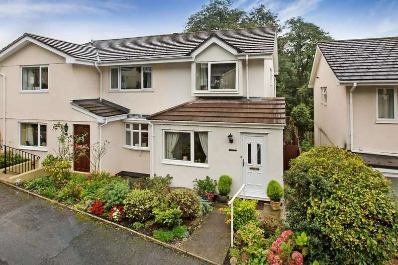 2 Bedrooms Semi Detached House for sale in St Peters Close, Bovey Tracey