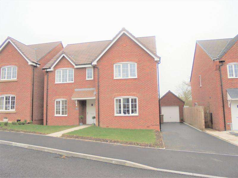 4 Bedrooms Detached House for sale in Egremont Close, Evesham