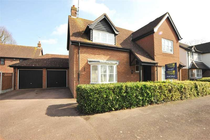 4 Bedrooms Detached House for sale in Bradwell Green, Hutton, Brentwood, Essex, CM13