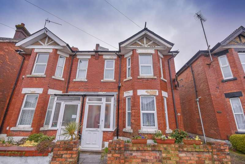 3 Bedrooms Semi Detached House for sale in Wolverton Road BH7