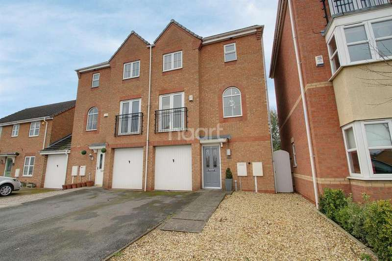 3 Bedrooms Semi Detached House for sale in Goodheart Way, Thorpe Astley, Leicester