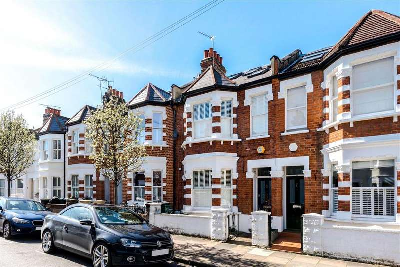 4 Bedrooms Terraced House for sale in Bendemeer Road, Putney, London, SW15