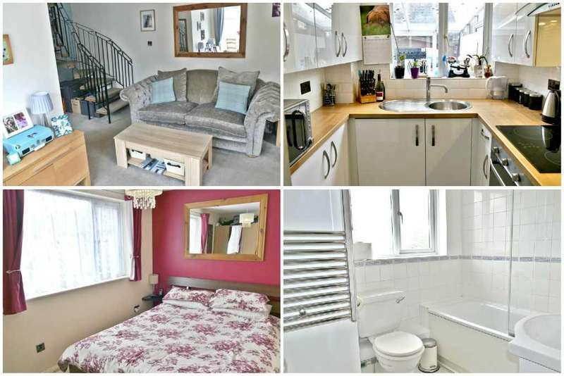 1 Bedroom End Of Terrace House for sale in QUIET CUL-DE-SAC LOCATION WITH ALLOCATED PARKING