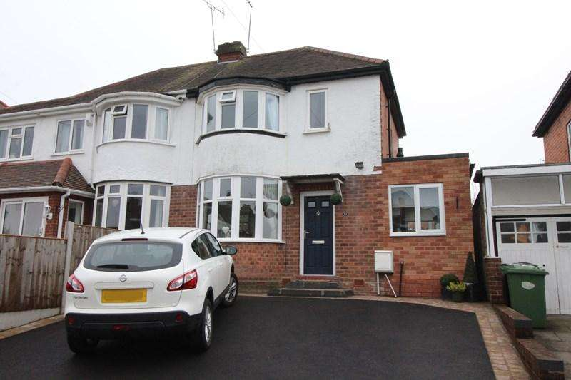 2 Bedrooms Semi Detached House for sale in Geoffrey Road, Shirley, Solihull
