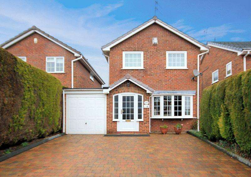 4 Bedrooms Detached House for sale in Meerbrook Close, Trentham