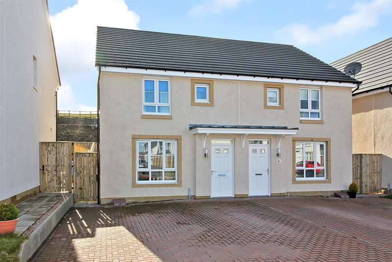 3 Bedrooms Semi Detached House for sale in Lendrick Drive, Maddiston, Falkirk
