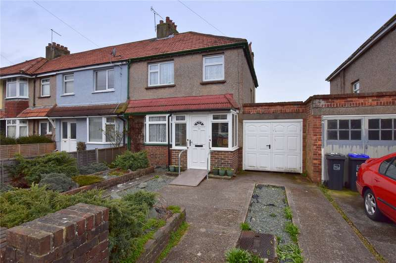 3 Bedrooms End Of Terrace House for sale in First Avenue, Lancing, West Sussex, BN15